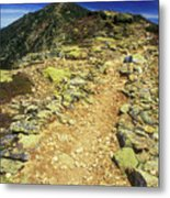 Franconia Ridge Alpine Trail Metal Print