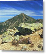 Franconia Ridge And Mount Lafayette Alpine Metal Print