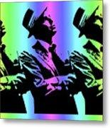 Frank Sinatra Art Metal Print