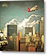 Frank Sinatra Fly Me To The Moon New York 20170506 V3 Metal Print