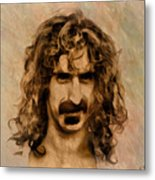 Frank Zappa Collection - 1 Metal Print