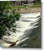 Frankenmuth Lager Mill II Metal Print