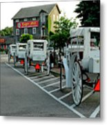 Frankenmuth Michigan Carriages At The Mill Metal Print