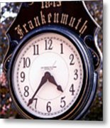 Frankenmuth Time Metal Print