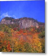 Frankenstein Cliffs Crawford Notch Metal Print