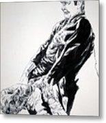 Frankenstein Vs. The Wolfman Metal Print