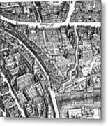 Frankfurt Am Main, 1628 Metal Print