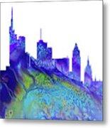 Frankfurt Skyline 3 Metal Print