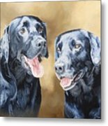 Frankie And Ross Metal Print