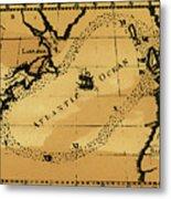 Franklin Chart, 1786 Metal Print