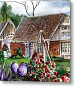 Franklin Park Conservatory Education Pavilon Metal Print