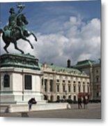 Franz Joseph Equestrian Statue Metal Print