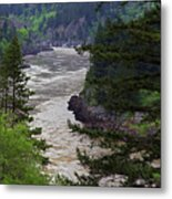 Fraser River British Columbia Metal Print