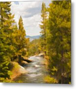 Frazier Creek Metal Print