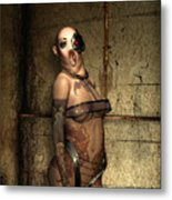 Freaks - The Second Girl In The Basment Metal Print