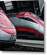 Freccia Rossa Trains. Metal Print