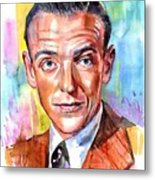 Fred Astaire Painting Metal Print