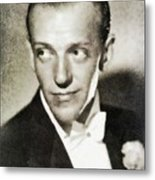 Fred Astaire, Vintage Actor And Dancer Metal Print
