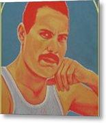 Freddie Mercury Metal Print