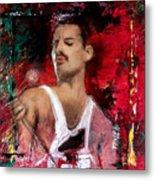 Queen Freddie Mercury Metal Print