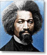 Frederick Douglass Painting In Color  Metal Print