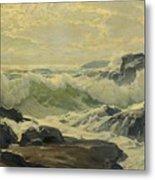 Frederick Judd Waugh 1861   1940 Coast Of Maine Metal Print
