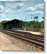 Fredericksburg Rail Station Metal Print