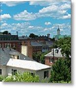 Fredericksburg Roof Tops Metal Print
