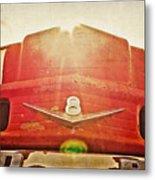 Fred's Farm Truck Metal Print