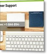 Free And Fast Quicken Customer Support Phone Number @ 1-844-894-7054 Metal Print