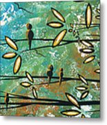 Free As A Bird By Madart Metal Print