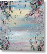 Free Improvisation #8 - Angels - Metal Print