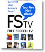 Free Speech Tv Metal Print