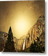 Free To Soar The Boundless Sky Metal Print by Wingsdomain Art and Photography