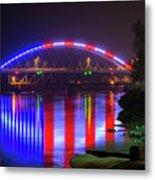 Freedom Bridge Metal Print