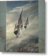 Freedom Fighters Three Metal Print