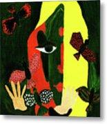Freedom In Colors Metal Print by Farah Faizal