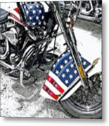 Freedom Rider Metal Print