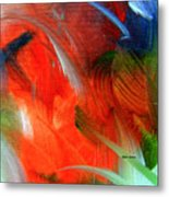 Freedom With Art Metal Print