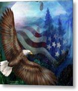 Freedom's Flight Metal Print