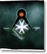 Freemason Symbol By Raphael Terra Metal Print