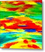 Freestyle Abstract Metal Print