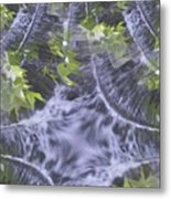 Freeway Park Waterfall 2 Metal Print