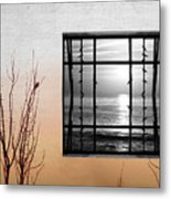 Freeze Metal Print