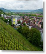 Freiburg Wine Sloop Metal Print