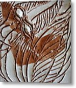 French - Tile Metal Print