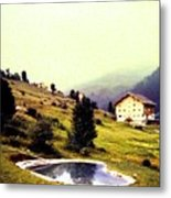 French Alps 1955 Metal Print