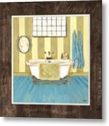 French Bath 2 Metal Print