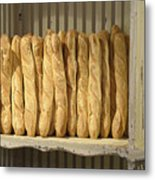 French Bread In Roussillon Metal Print