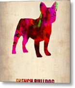 French Bulldog Poster Metal Print by Naxart Studio